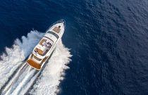 Princess Yachts F49 Aerial Image