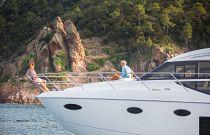 Princess Yachts F49 Bow Image