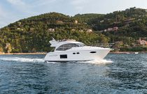 Princess Yachts F49 Starboard Side