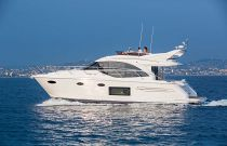 Princess Yachts F49 Port Side Idle