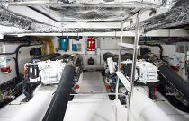 Princess Yachts F49 Engine Room