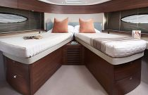 Princess Yachts F49 Scissor Berth Cabin