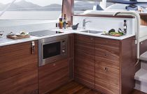 Princess Yachts F49 Galley