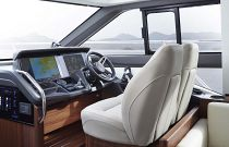 Princess Yachts F49 Double Helm Seats