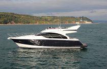 Princess 43 F Class Port Idle