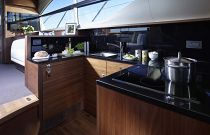 Princess Yachts 43 Flybridge Galley Stone Top