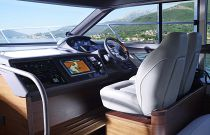 Princess Yachts 43 Flybridge Helm Electronics