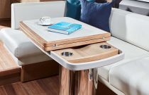 Princess Yachts V65 Teak Table