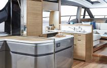 Princess Yachts V65 Express Galley Aft