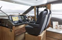 Princess Yachts V65 Double Helm Chairs