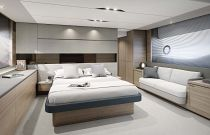 Princess Yachts V65 Master Bedroom
