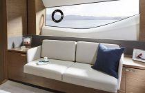 Princess Yachts V65 Master Stateroom Sofa Area