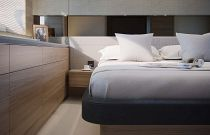 Princess Yachts V62 Express Cabin Storage