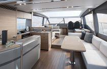 Princess Yachts V65 Express Salon FWD Image