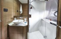 Princess Yachts V62 Express Full Head with Stall Shower