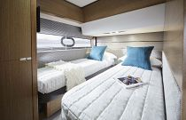 Princess Yachts V65 Express Electric Sliding Bunk Berths