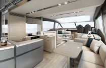 Princess Yachts V60 Salon Image Gallery