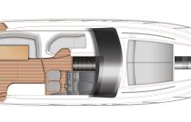 Princess Yachts V40 Layout 1