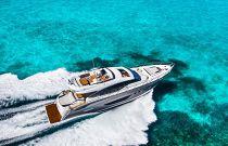 Princess Yachts S72 Aerial Image