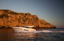 Princess Yachts S65 Running Dusk