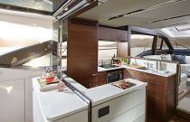 xPrincess Yachts S65 Aft Galley