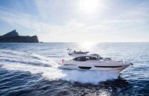 Princess Yachts S65 Sport Yacht Running Starboard Side Profile Image