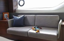 Princess Yachts S65 Master Bedroom Sofa Area