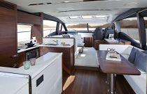 Princess Yachts S65 Salon Image