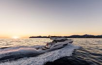 Princess Yachts S65 Run Evening Photo