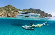 Princess Yachts S65 SEABOB Snorkle Dvice
