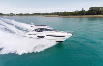 Princess Yachts S60 Starboard Side Running
