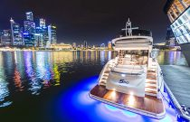 Princess yachts S60 At Dusk