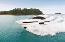 Princess Yachts S60 Running Image