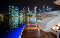 Princess yachts S60 Hydraulic Platform