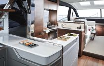 Princess S60 Sport Bridge Galley