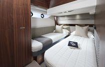 Princess Yachts S60 3rd Cabin Bunk Berths