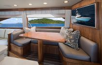 Viking Yachts 68 Convertible Salon Dinette