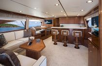 Viking Yachts 68 Convertible Salon Image