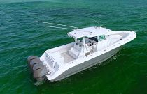 HCB Hydra-Sports 39 Speciale View Idle Aft