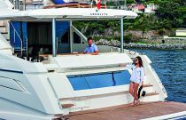 Absolute Yachts 72 Flybridge Hydraulic Swim Platform