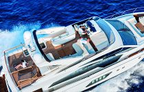 Absolute Yachts 72 Flybridge Aerial Image
