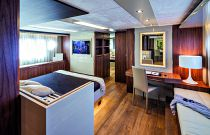 Absolute Yachts 72 Flybridge Master Stateroom Desk