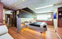 Absolute Yachts 72 Flybridge Main Cabin