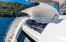 Absolute 73 Navetta Transom Tender Storage