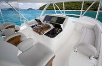 Viking Yachts 68 Convertible Helm Electronics