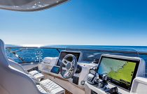 Absolute 73 Navetta Bridge Screen Displays Helm