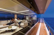 Absolute 73 Navetta Interior At Night
