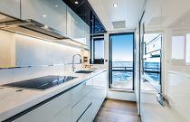 Absolute 73 Navetta Galley Chef Kitchen