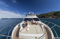 Absolute Yachts 64 Flybridge Bow Sun Lounge