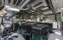Absolute Yachts 64 Flybridge Engine Room